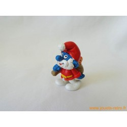 "figurine Schtroumpfs ""Père Noël"" Peyo"