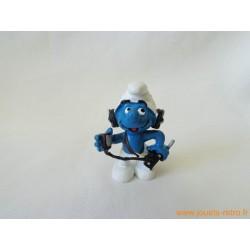 "figurine Schtroumpfs ""opérateur radio"" Peyo"