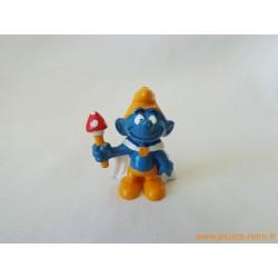 """figurine Schtroumpfs """"roi"""" Peyo"""