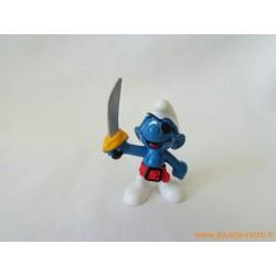 "figurine Schtroumpfs ""pirate"" Peyo"