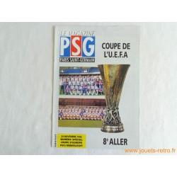 Le magazine PSG Coupe de l'UEFA