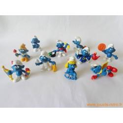 Lot figurines Schtroumpfs Peyo