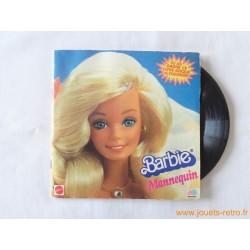 Barbie mannequin - 45T Livre Disque vinyle