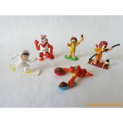 Lot figurines marque publicitaire
