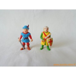 "Lot figurines ""chevaliers"" Soma"