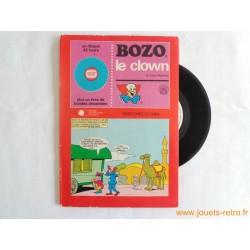 Bozo le clown - 45T Livre Disque vinyle