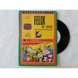 Felix le chat - 45T Livre Disque vinyle