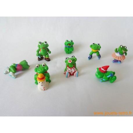 """lot figurines Kinder """"grenouilles"""""""