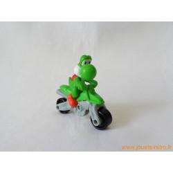 """Fgurine """"Yoshi"""" sur sa moto"""