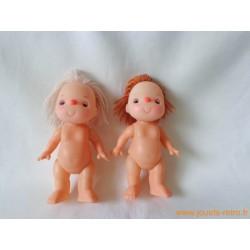 Mini poupées vintage