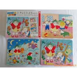 "3 puzzles progressifs ""Naftaline"" - Nathan 1992"
