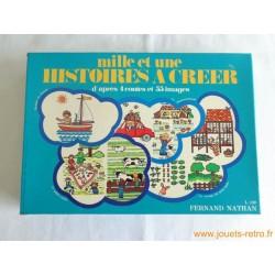 Mille et une histoires à créer - jeu Nathan 1975