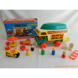 Le camping Fisher Price