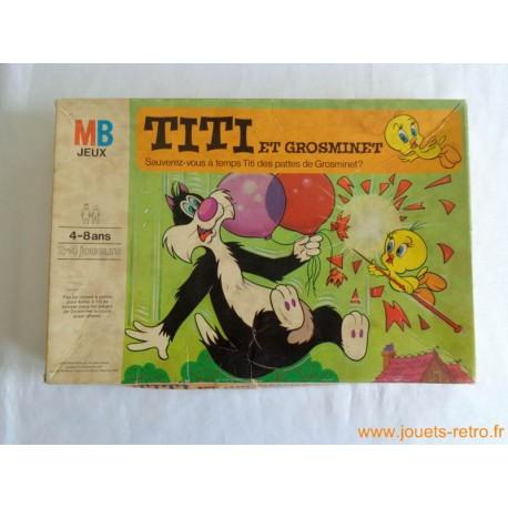 Titi et Grosminet - jeu MB 1975