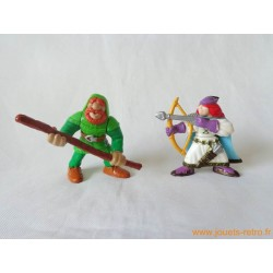 "Lot figurines ""chevaliers"" Fisher Price 1998"