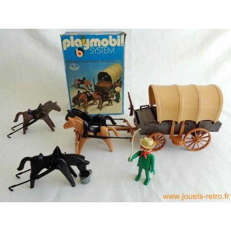 """""""Chariot baché"""" Playmobil System 3243"""