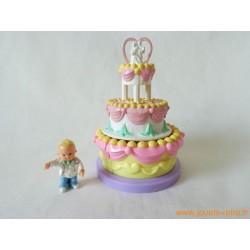 Le gâteau de Mariage Mimi & Goo Goos - Mattel 1995