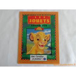 Catalogue jouets Carrefour Noël 1994
