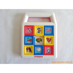 Jeu de taquin Pousse-pousse - Playskool 1990