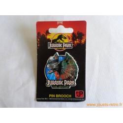 "Pin's Jurassic Parc ""Dilophosaur"""