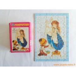 Mini puzzle Miss Petticoat