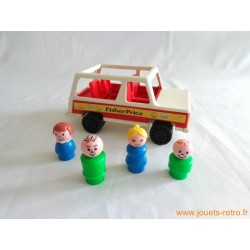 Voiture et famille Fisher Price