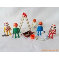 """Playmobil """"chantier"""" Klicky 3201"""
