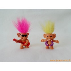 "Lot mini ""Troll"" porte crayons"