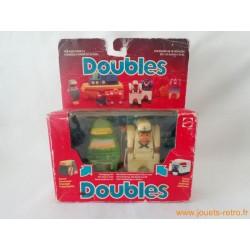 "Doubles ""perroquet / marin"" Mattel"