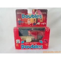 """Doubles """"mouton / taureau"""" Mattel"""