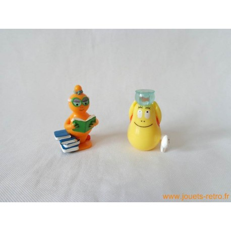 Lot figurines Kinder Barbapapa