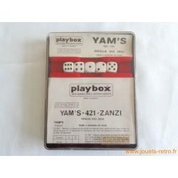 Yam's - 421 - Zanzi - jeu Playbox 1979