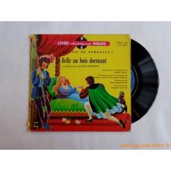 La belle au bois dormant - 45T Livre Disque vinyle