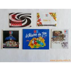 Lot catalogues jeux de société MB et Parker