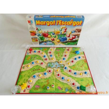 Margot l'escargot - jeu MB 1989