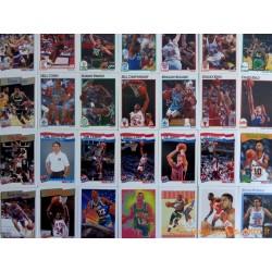Lot 104 cartes NBA Hoops 1991-92 série 1 et 2
