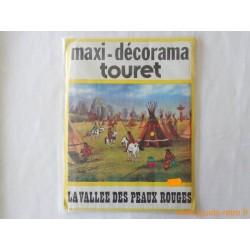 """Maxi Décorama Touret """"La vallée des peaux rouge"""""""