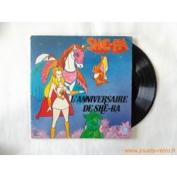 She-Ra, l'anniversaire de Shé-Ra - Livre disque 45t
