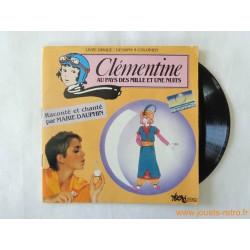 Clémentine au pays des mille et une nuits - Livre disque 45t