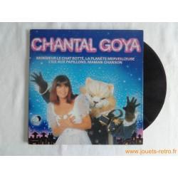 """Chantal Goya """"Monsieur le chat Botté..."""" disque 33T"""
