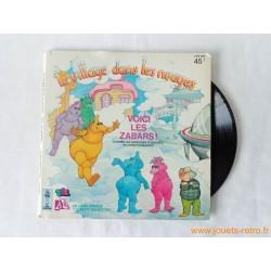 """Le village dans les nuages """"Voici les Zabars!"""" - 45T Livre disque vinyle"""