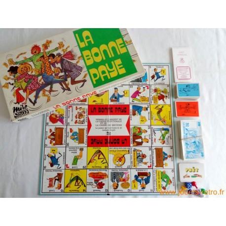 La bonne paye - Jeu Parker Miro 1977