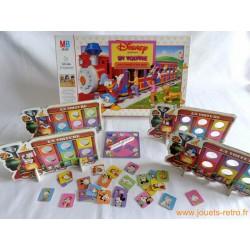 En Voiture Avec Donald Et Ses amis - jeu MB 1987