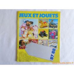 Catalogue jouets Noël 87 printemps 88