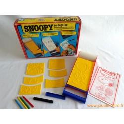 Snoopy se déguise - jeu Atalier Nathan 1983