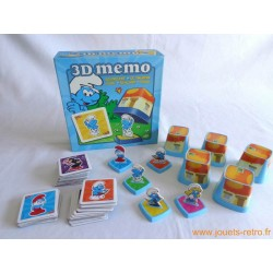 3D Memo Schtroumpfs