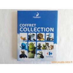 Coffret collection cartes Dreamworks Carrefour