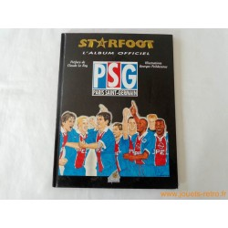 Starfoot l'album officiel PSG 96/97