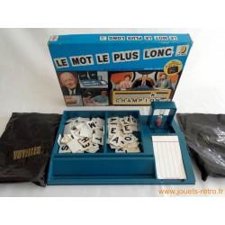 Le mot le plus long - jeu CEJI 1976