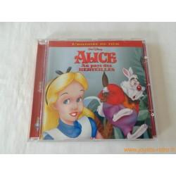 """CD """"Alice au pays des merveilles"""" l'histoire du film + chansons Disney"""